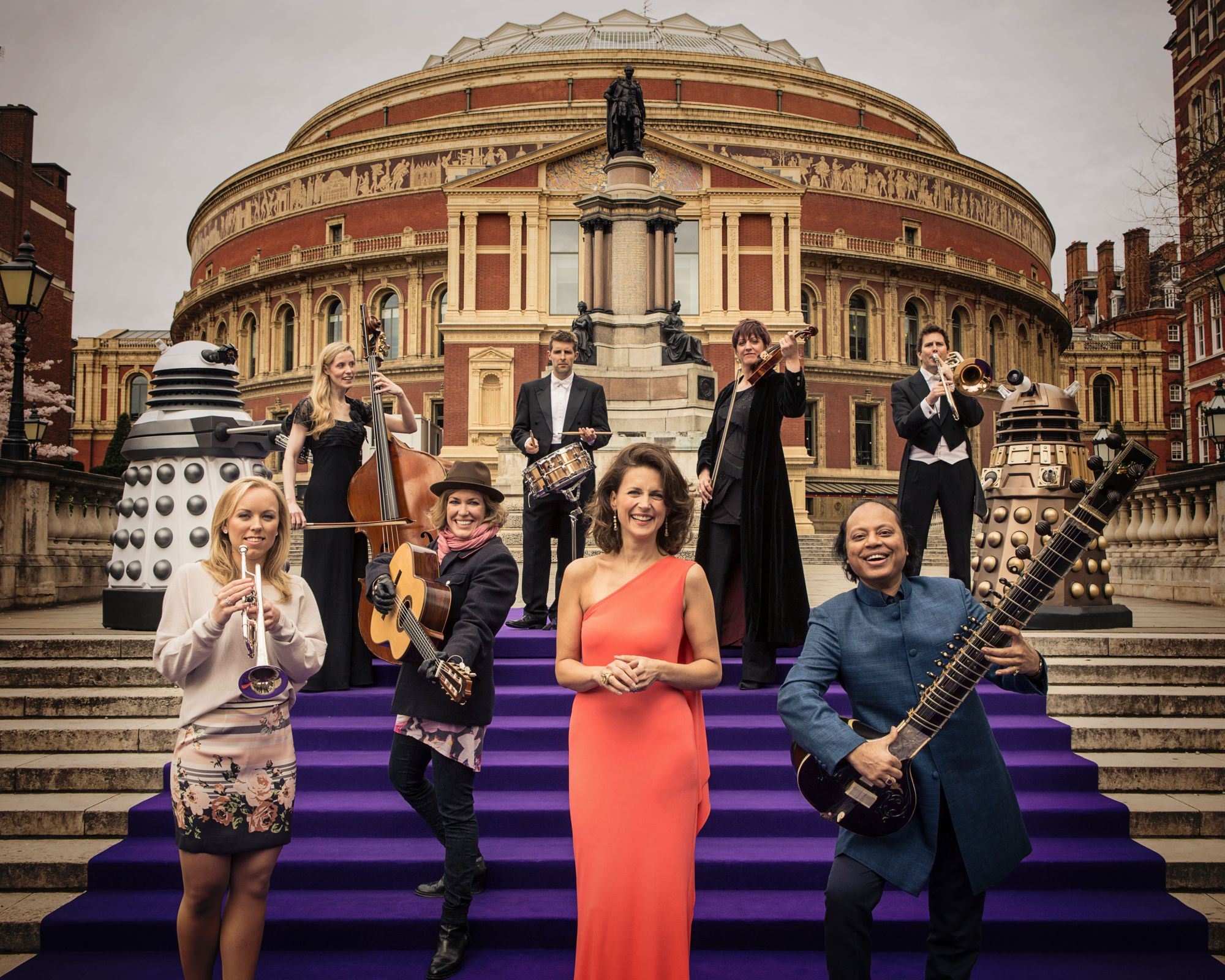 Doctor Who Prom 2013 (Credit: BBC/Robert Viglasky)