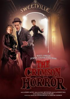The Crimson Horror: Publicity Poster (Credit: BBC/Ray Burmiston/Adrian Rogers)