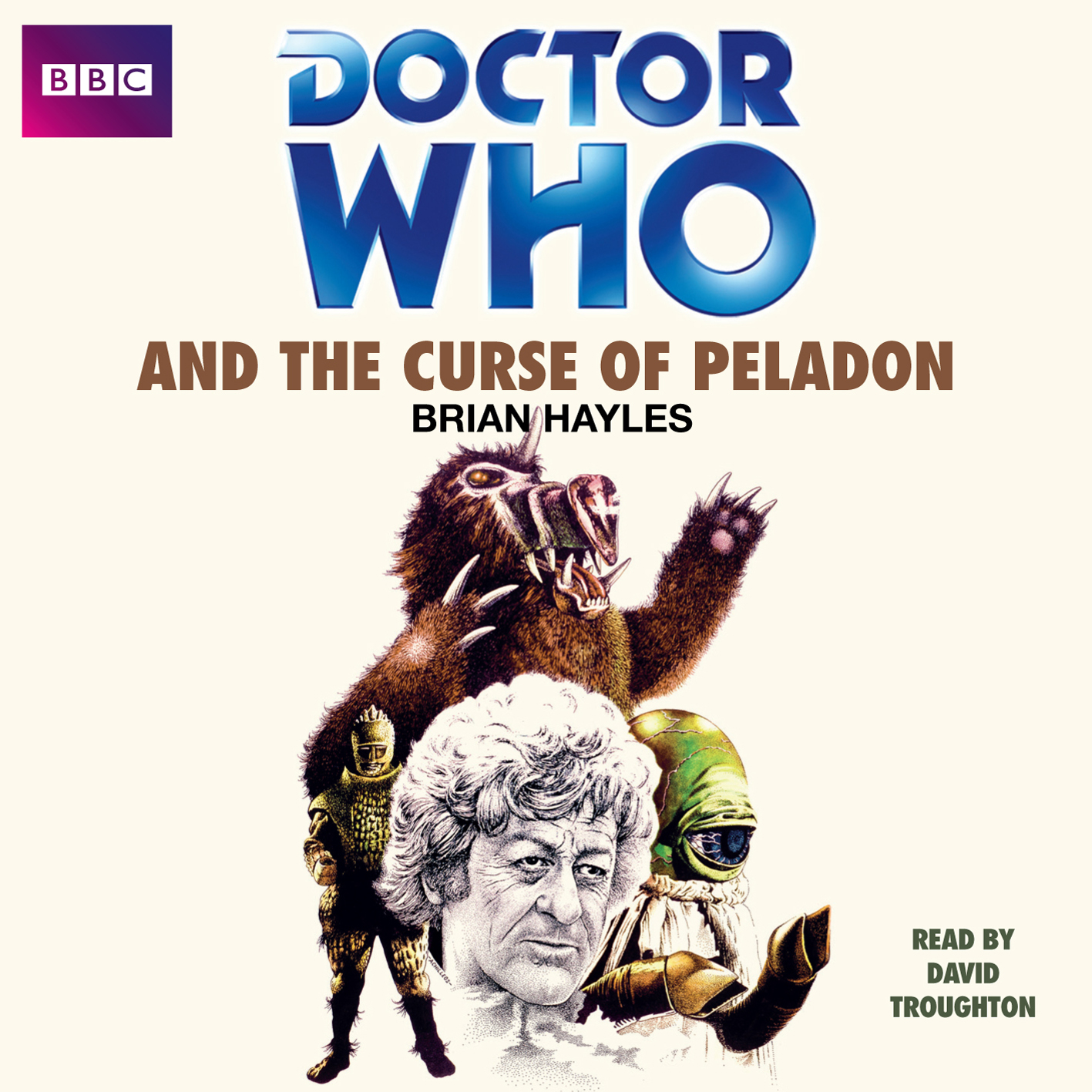 Doctor Who and The Curse of Peladon, read by David Troughton