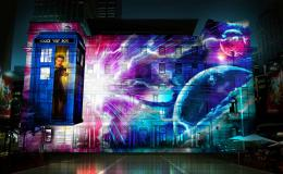 Doctor Who Projections Vivid Sydney June 2013 (Credit: BBC Worldwide)