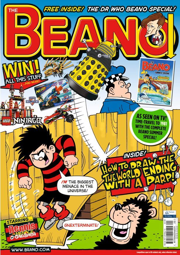 Beano Doctor Who Special