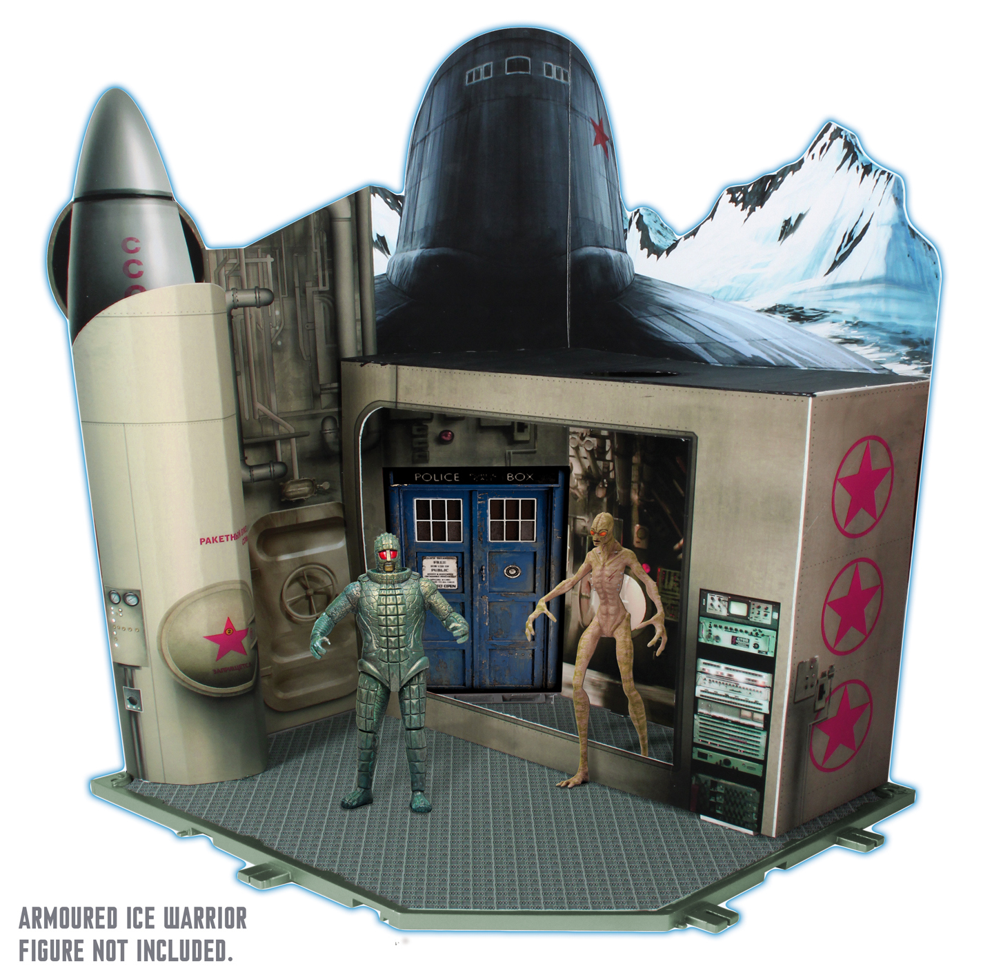 "Character 3.75"" Figures: Timezone Playset: Cold War (Credit: Character)"