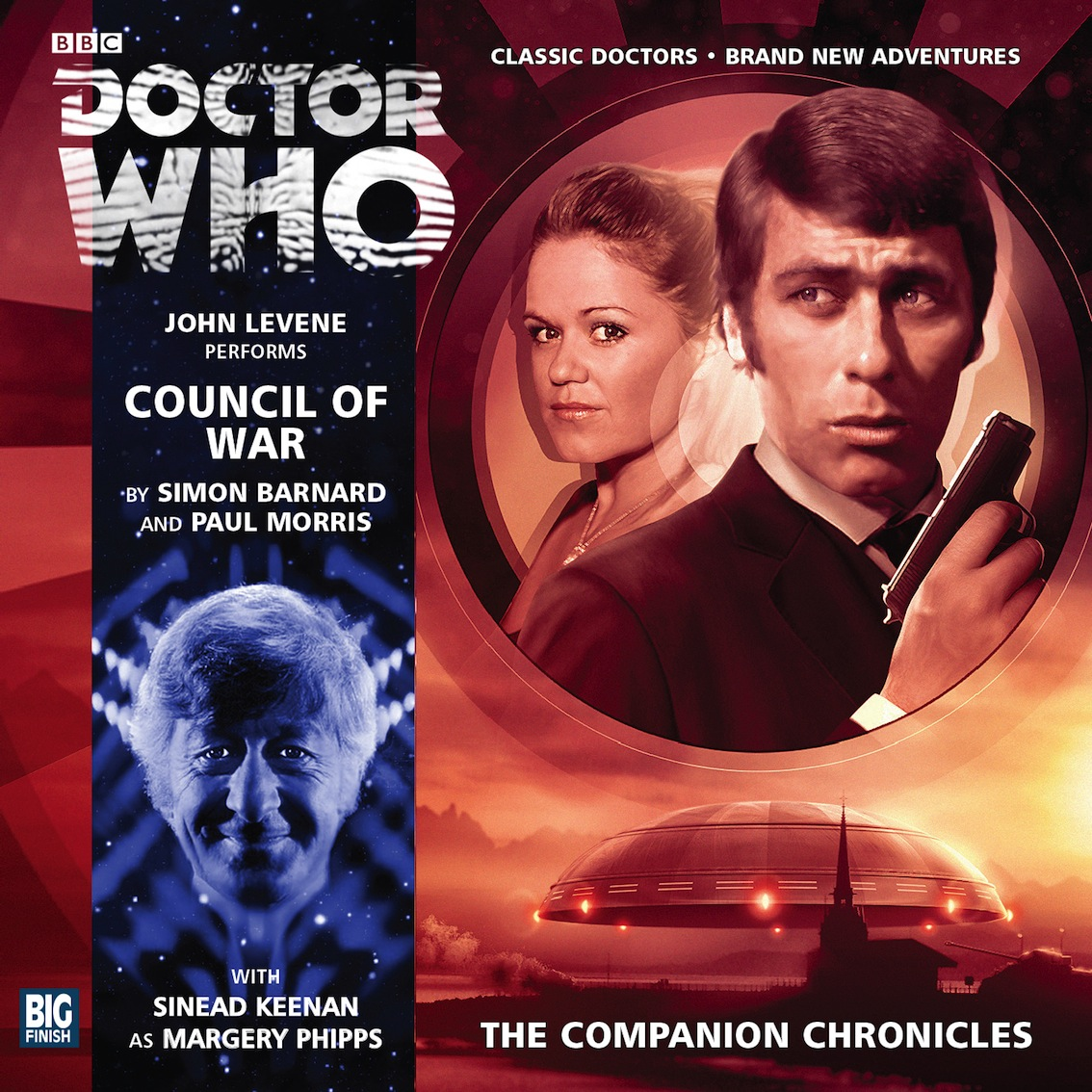 The Companion Chronicles: Council of War (Credit: Big Finish)
