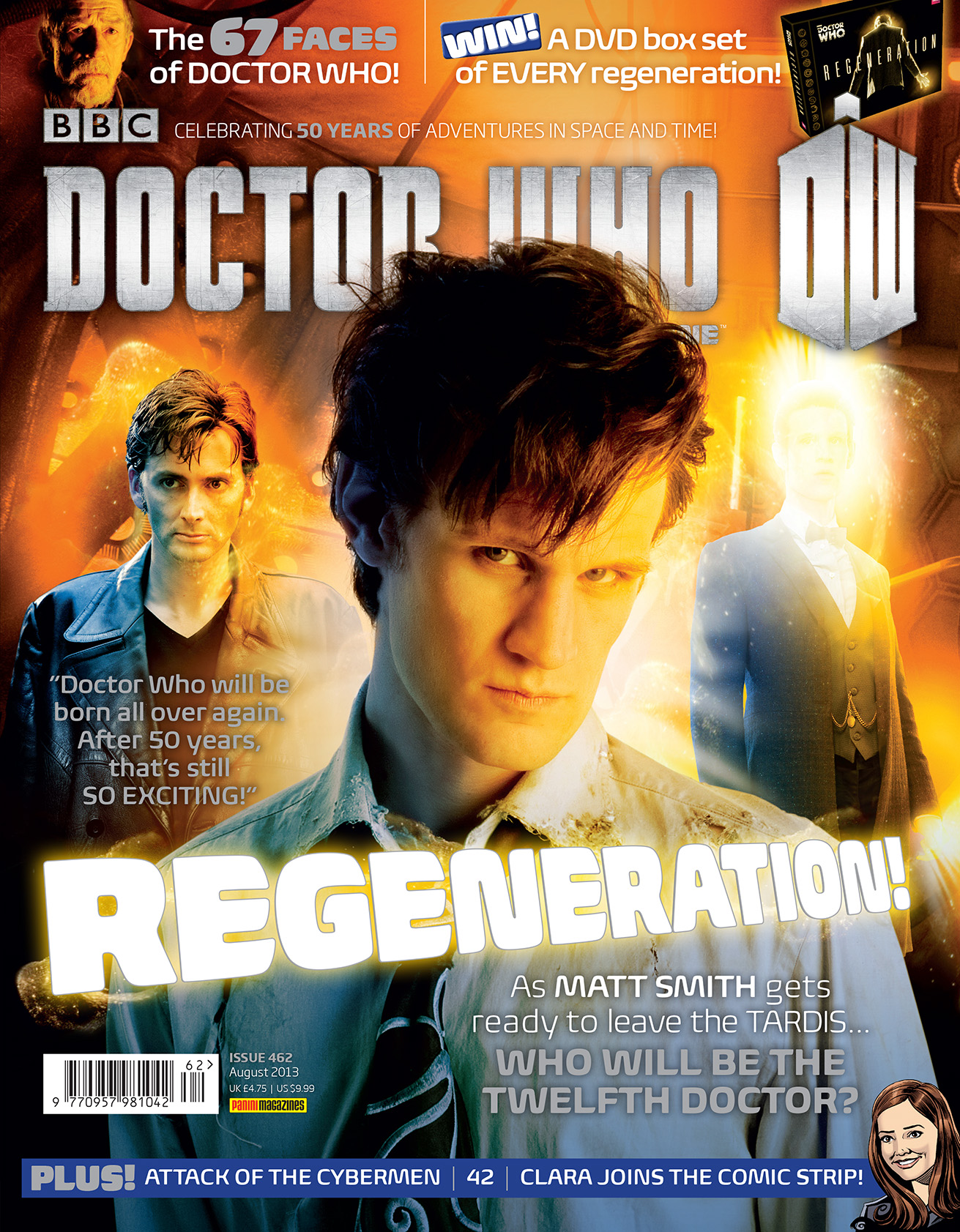 Doctor Who Magazine 462 (Credit: Doctor Who Magazine)