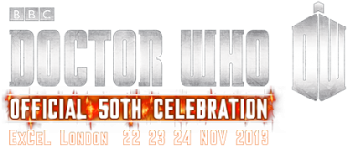 Doctor Who Official 50th Anniversary Convention - Logo (Credit: BBC Worldwide)