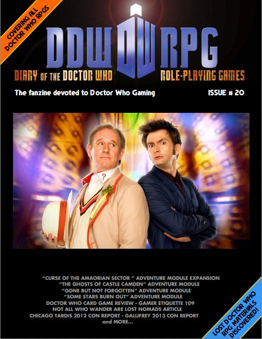 Diary of the Doctor Who Role Playing Games - Issue 20 (Credit: DDWRPG)