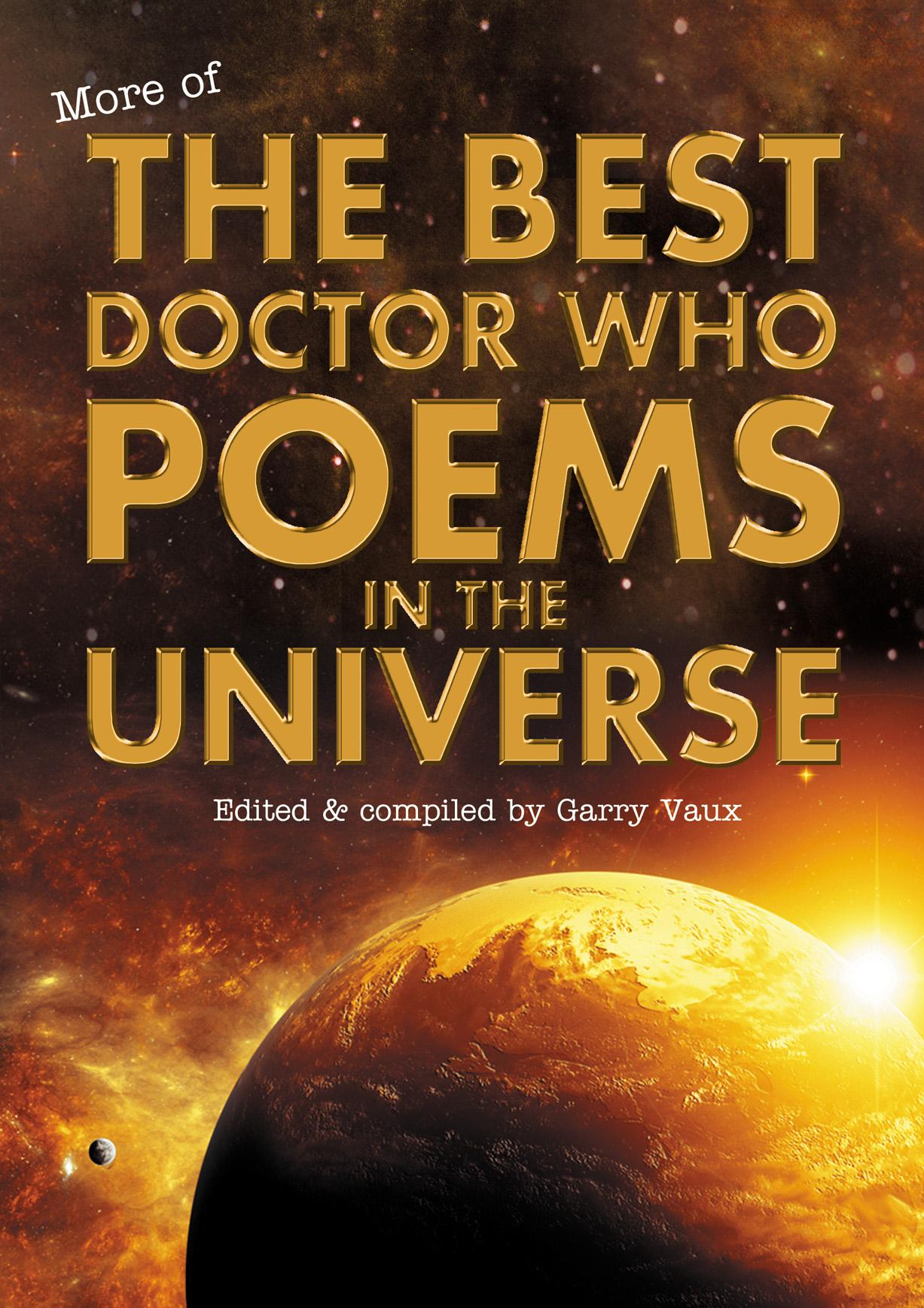 More of the Best Doctor Who Poems in the Universe (Credit: Garry Vaux)
