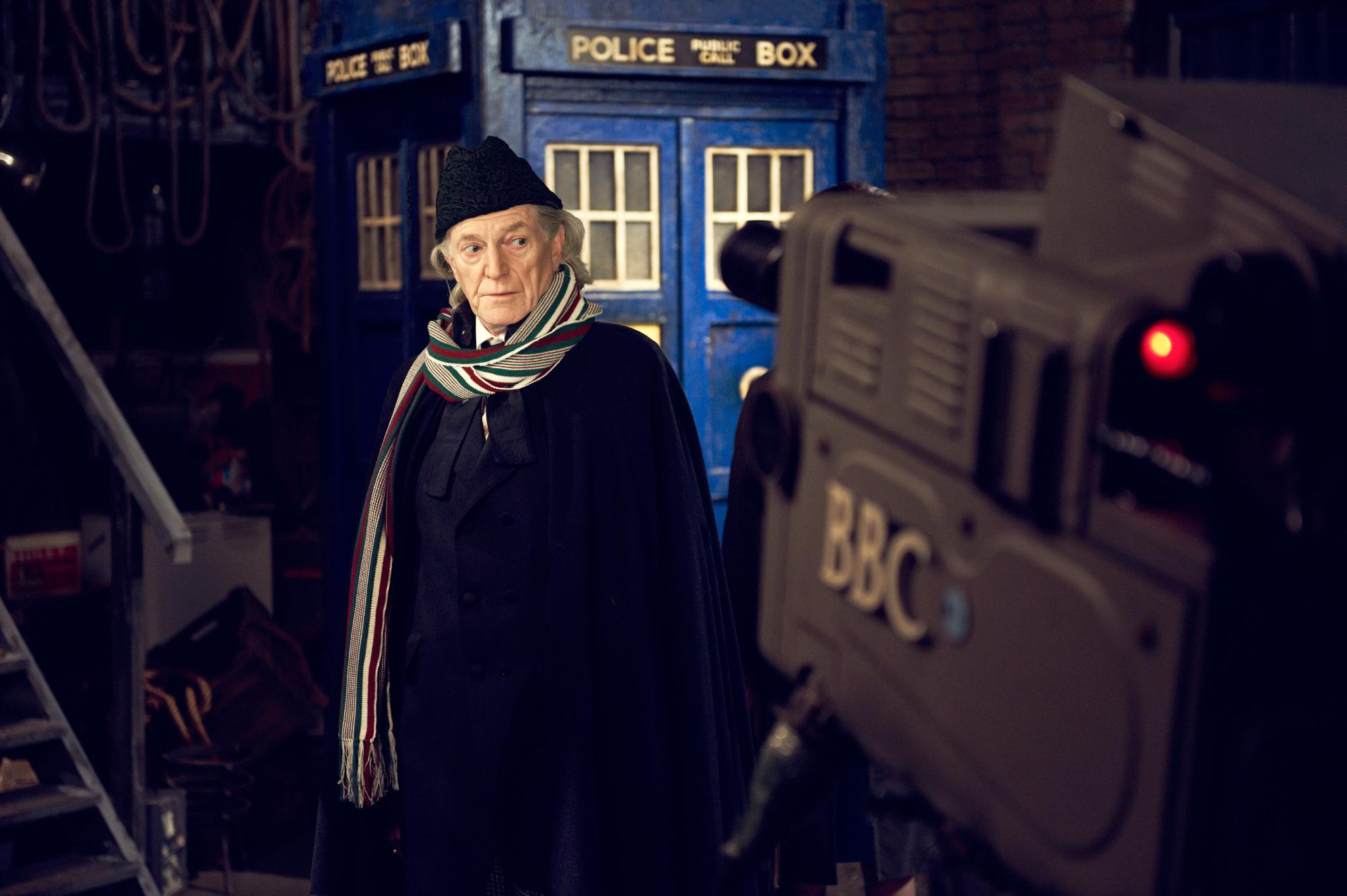 An Adventure in Space and Time: David Bradley as William Hartnell (Credit: BBC/Hal Shinnie)