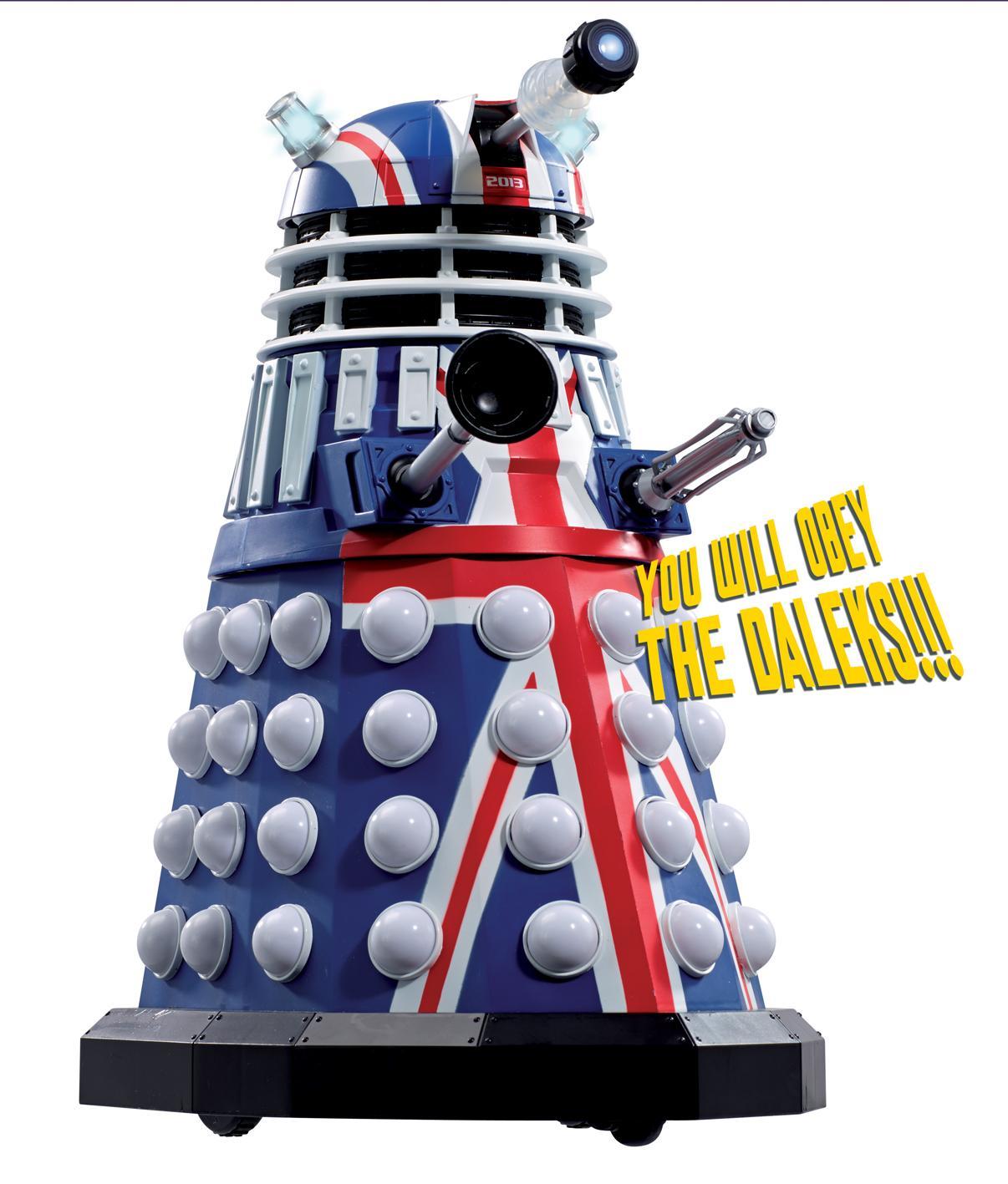 "Character: 12"" British Icon Dalek (Credit: Character)"