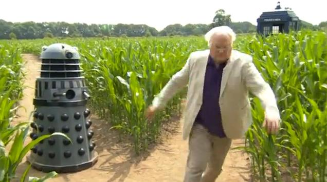 Elvington Maize Maze - Chase! (Credit: BBC)