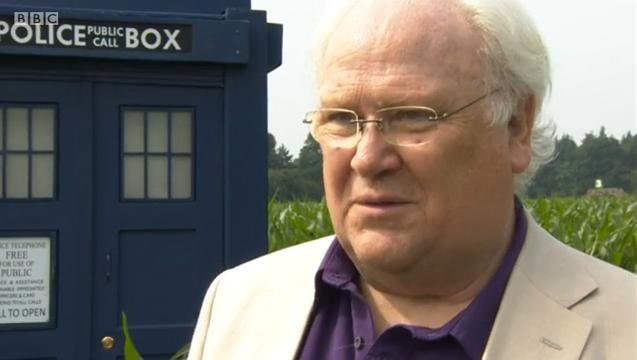 Elvington Maize Maze - Colin Baker (Credit: BBC)