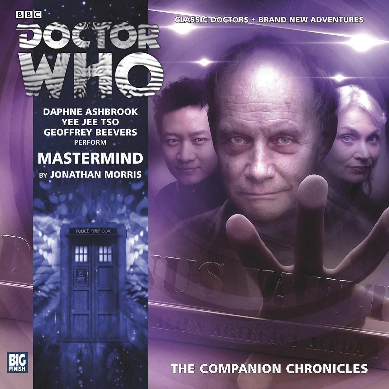 The Companion Chronicles: Mastermind (Credit: Big Finish)