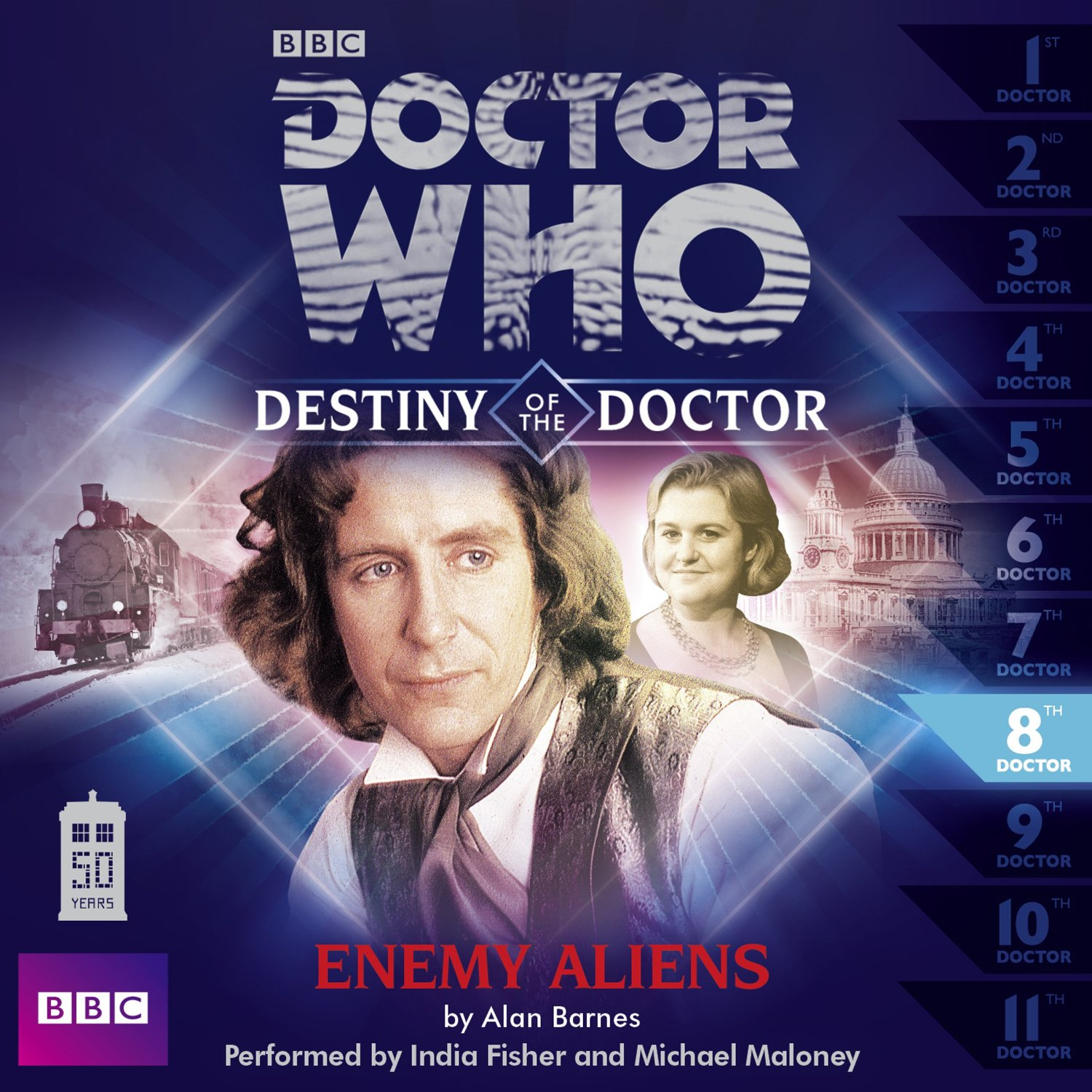 Destiny of the Doctor: Enemy Aliens (Credit: AudioGo)
