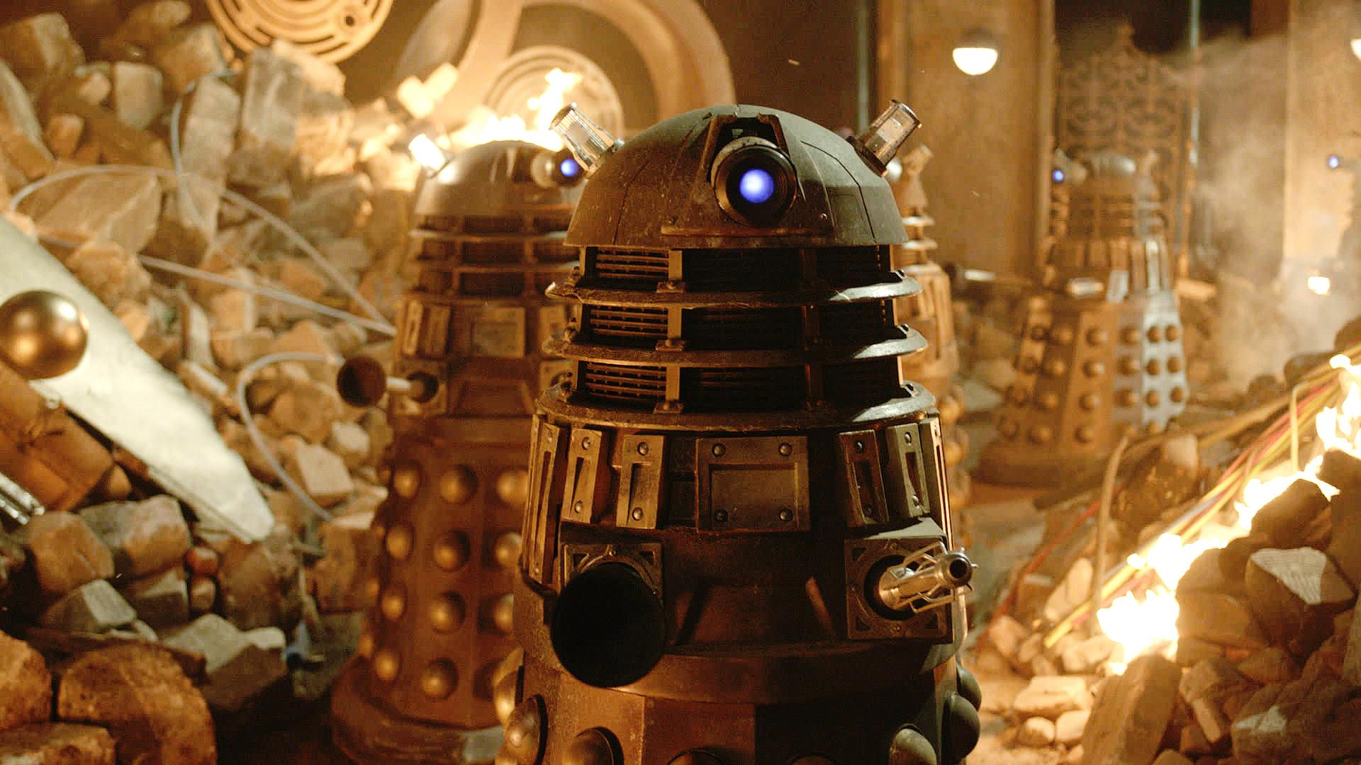 50th Anniversary Special: First Official Dalek photo (Credit: BBC Doctor Who (via Twitter))