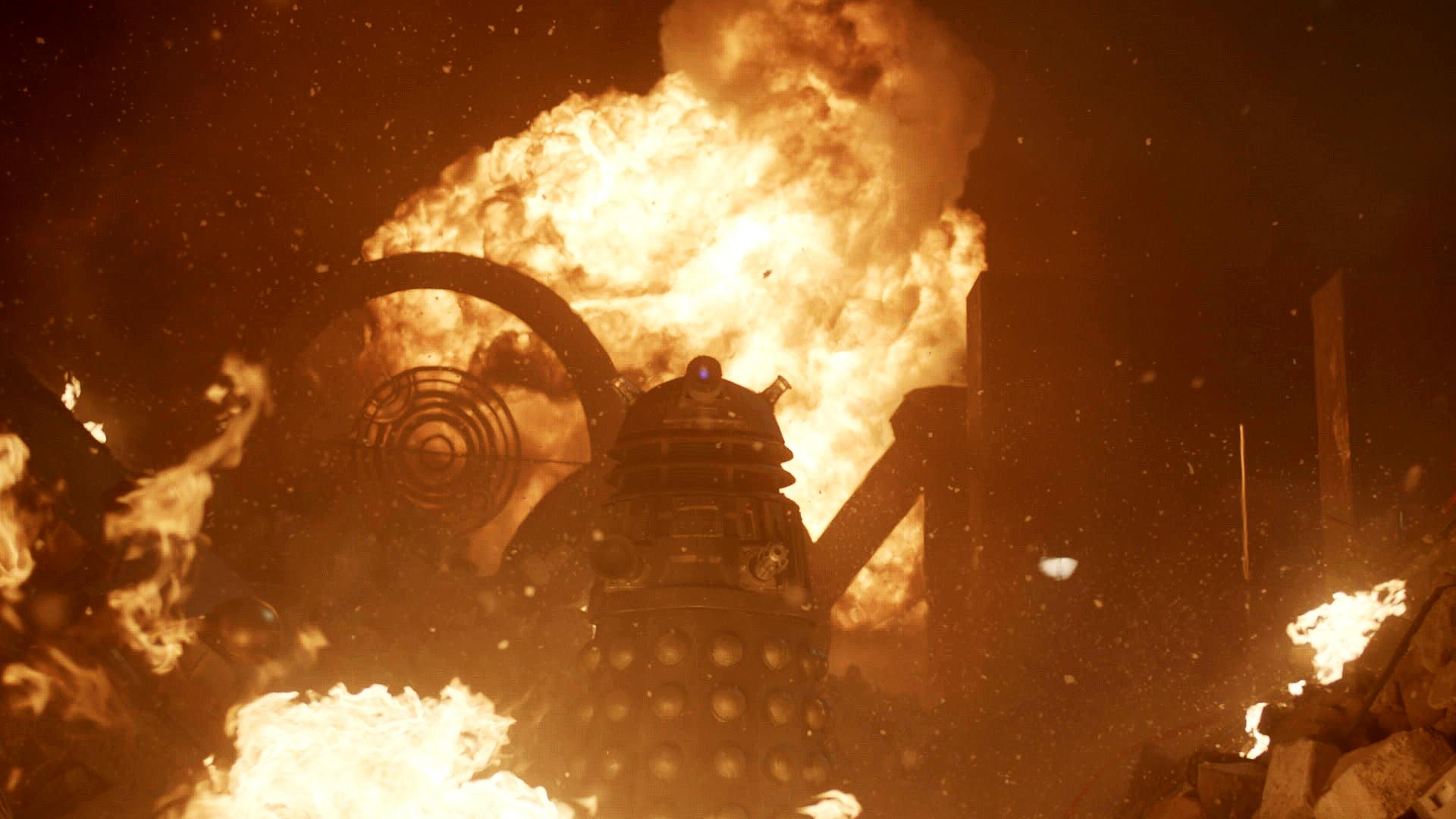 50th Anniversary Special: Second Official Dalek photo (Credit: BBC Doctor Who (via Twitter))