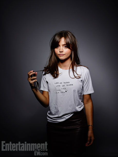 Jenna Coleman (Credit: Entertainment Weekly)