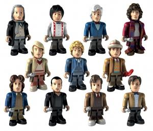 Character Building: 50th Anniversary Doctor micro-figures (Credit: Character)