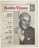 Radio Times (23-29 Nov 1963) (Credit: Immediate Media)