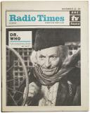 Dummy Radio Times (23-29 Nov 1963) (Credit: Immediate Media)