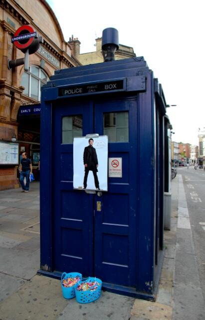 "Misha Collins ""is the Doctor"" ...  (Credit: Misha Collins)"