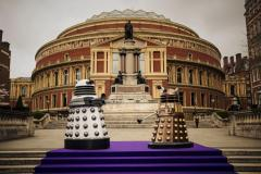 Daleks at the Prom (Credit: BBC/Robert Viglasky)