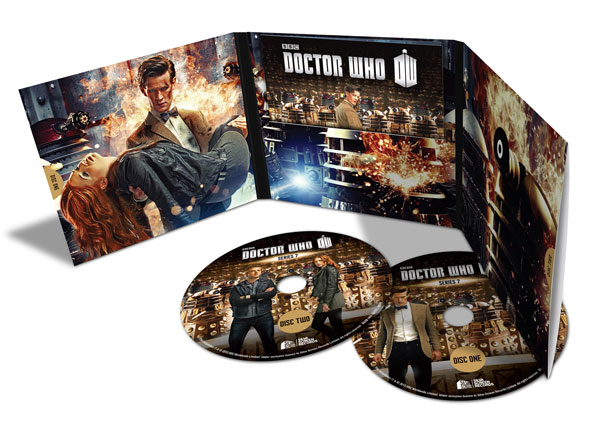 Series 7 (soundtrack) - limited edition gatefold wallet (Credit: Silva Screen)