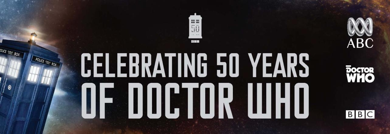 ABC - Celebrating 50 Years of Doctor Who (Credit: ABC)