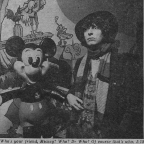 The Doctor presents Disney Time (Credit: Radio Times)