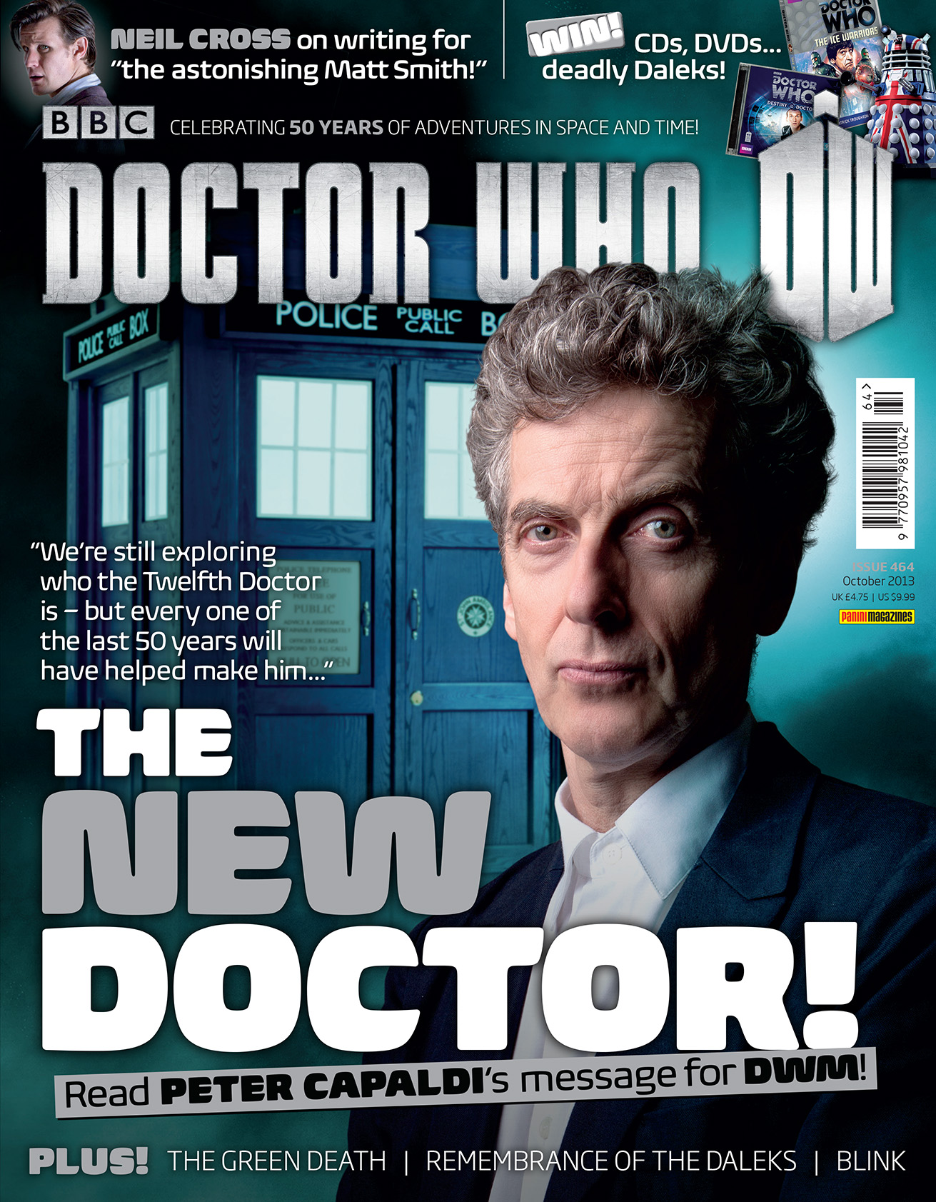Doctor Who Magazine 464 (Credit: Doctor Who Magazine)
