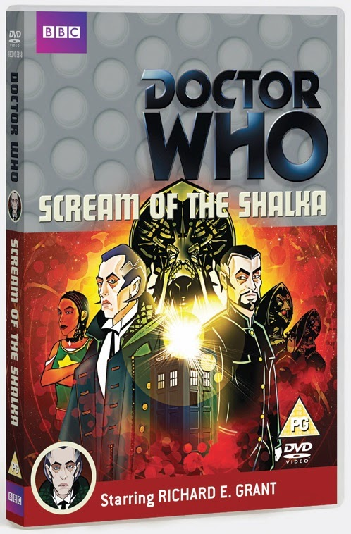 Scream of the Shalka - DVD R2 Cover (3D) (Credit: BBC Worldwide)