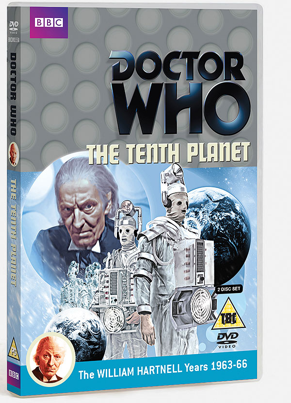 The Tenth Planet - DVD R2 Cover (Credit: BBC Worldwide)