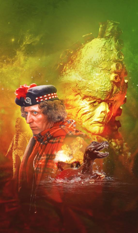 Terror of the Zygons - DVD R2 Cover Artwork (Credit: Tea Lady Design)