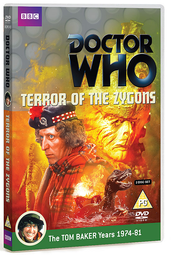 Terror of the Zygons - DVD R2 Cover (3D) (Credit: BBC Worldwide)