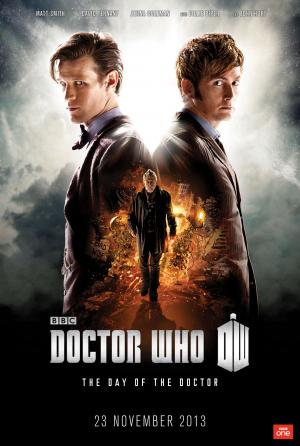 The Day of the Doctor - Promotional Poster (portrait) (Credit: BBC/Adrian Rogers)