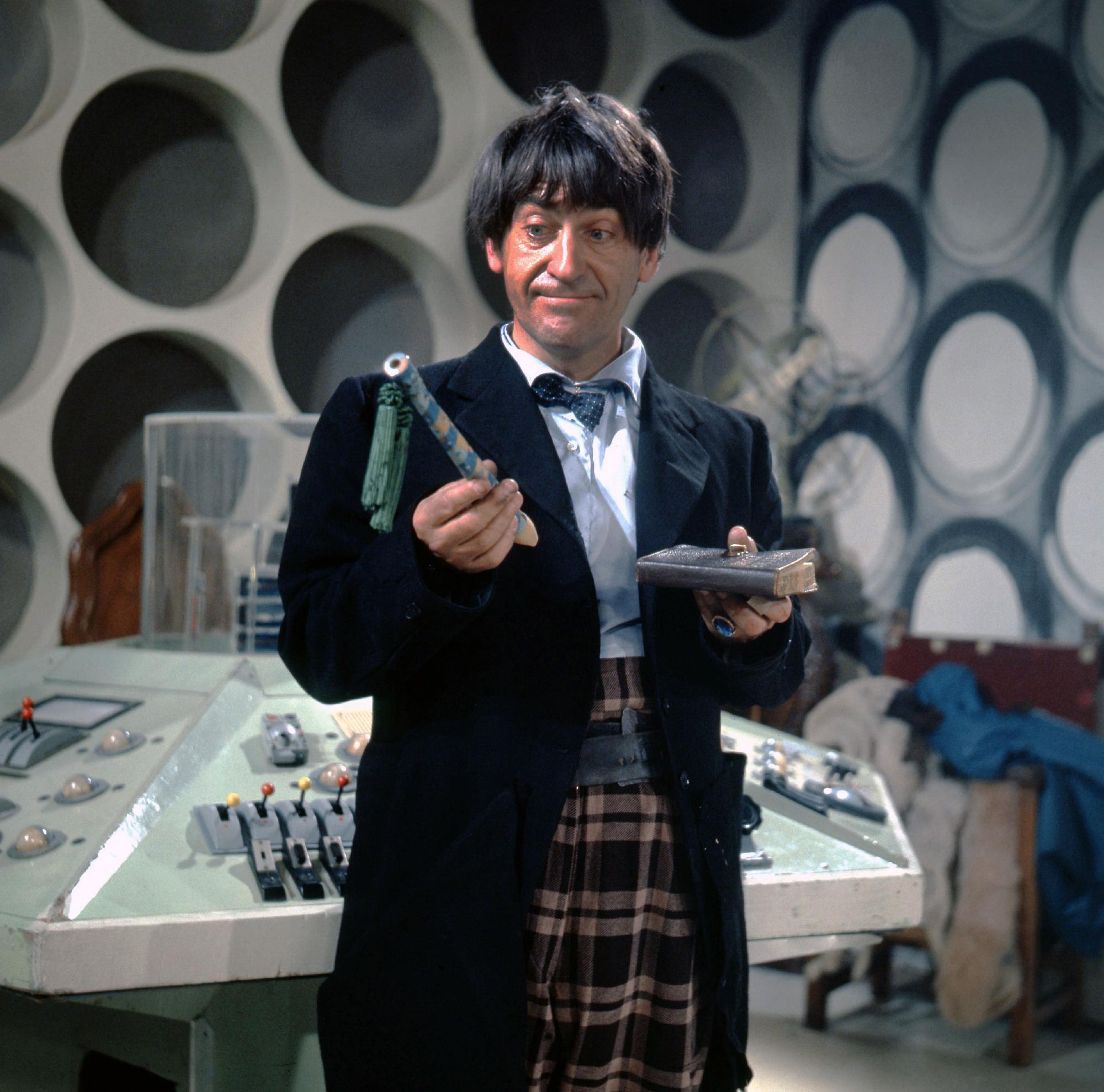 Patrick Troughton as Doctor Who (Credit: BBC)