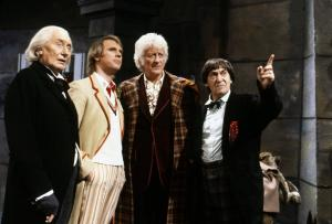 Time Space Visualiser: The Five Doctors