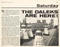 World's End, BBC1, 21 Nov 1964 (Article) (Credit: Radio Times)