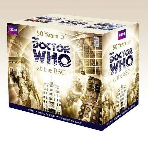 50 Years of Doctor Who at the BBC (Credit: AudioGo)