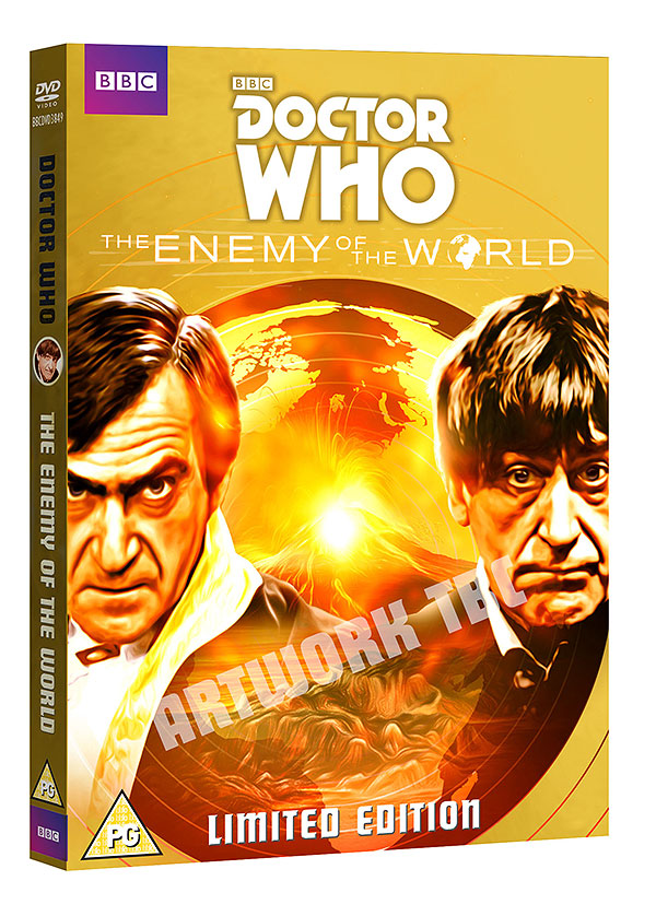 The Enemy of the World - BBC Shop exclusive slipcase (Credit: BBC Shop)