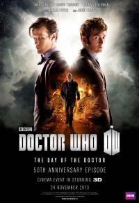 The Day of the Doctor - Cinema Poster (Credit: BBC Worldwide)