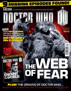 Doctor Who Magazine 466 (The Web of Fear cover) (Credit: Doctor Who Magazine)