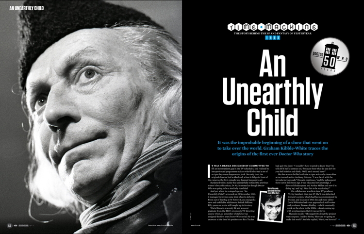 SFX 241 - Time Machine: An Unearthly Child (Credit: Future Publishing)