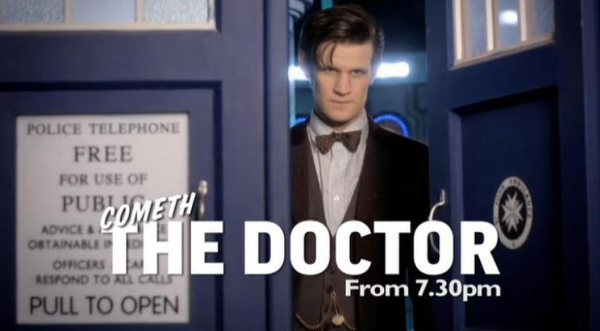 The Doctor on Children in Need, 15 Nov 2013