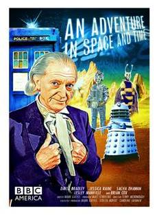 An Adventure in Space and Time - BBC America Poster (Credit: BBC America)