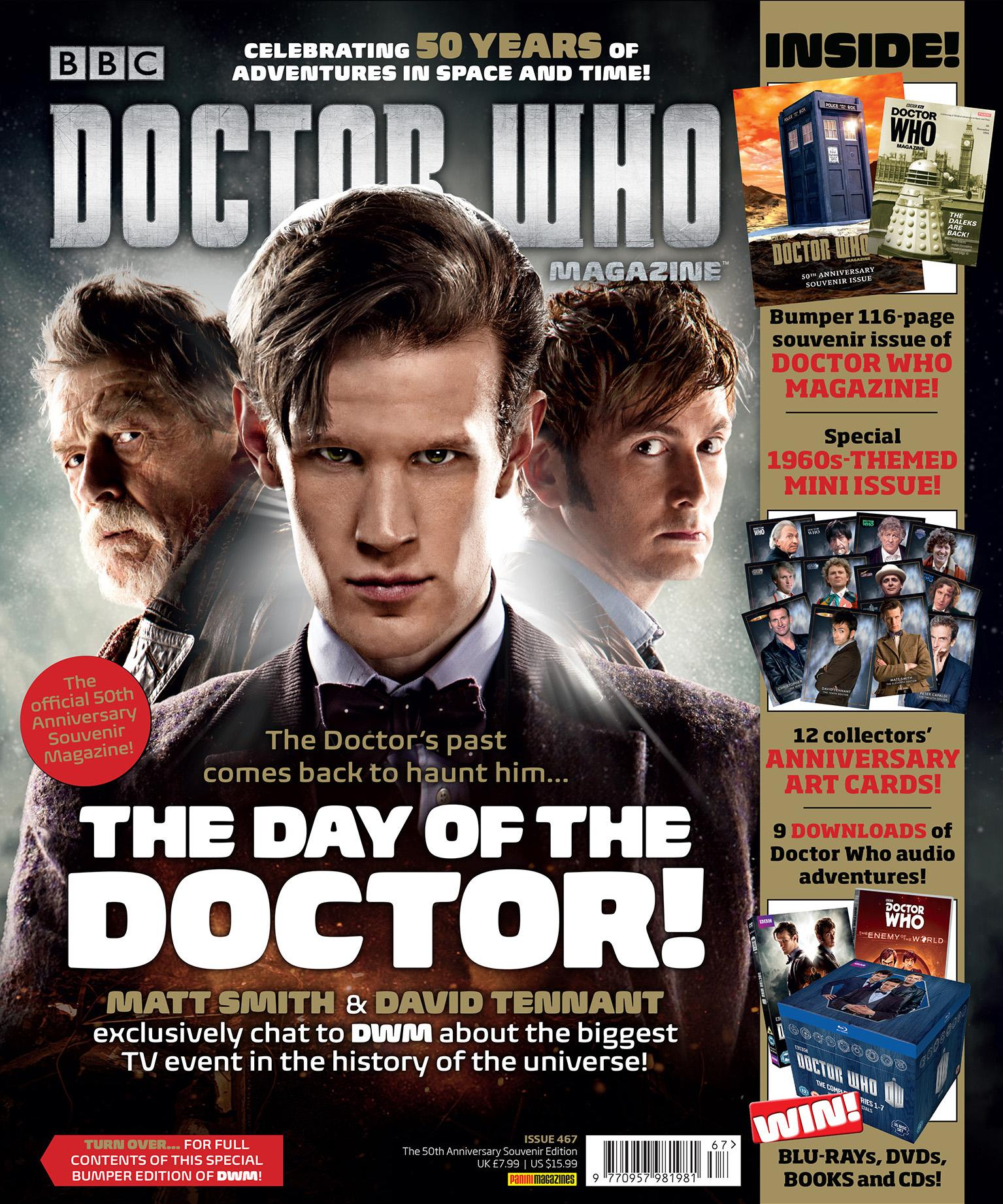 Doctor Who Magazine 467 (bagged) (Credit: Doctor Who Magazine)