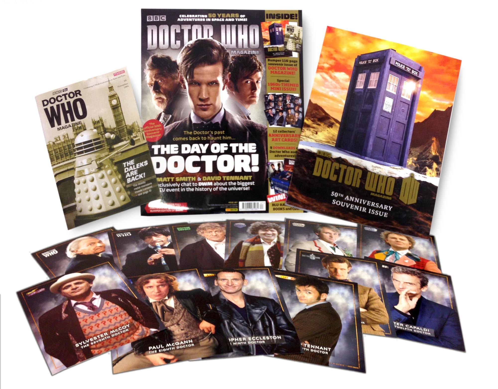 Doctor Who Magazine 467 (pack shot) (Credit: Doctor Who Magazine)