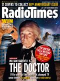 50th Anniversary Radio Times cover featuring The First Doctor, as revealed by DiscoverTV and RadioTimes.com