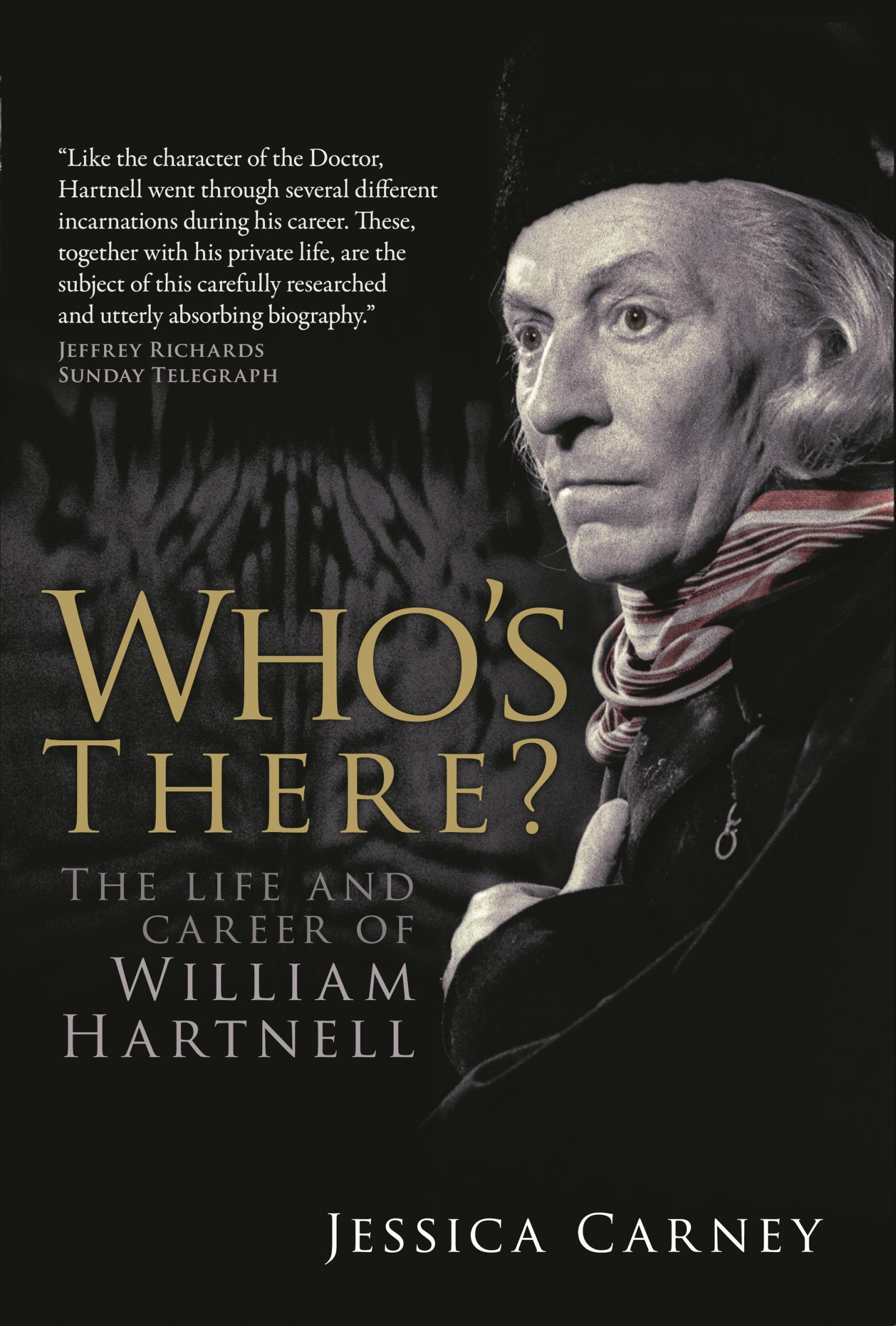 Who's There? The Life and Career of William Hartnell (book) (Credit: Fantom Publishing)