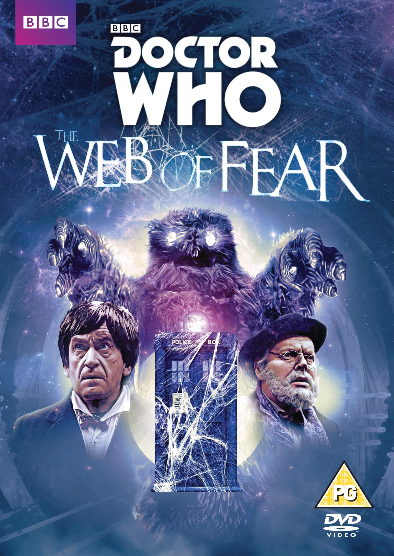 The Web of Fear: R2 cover (Credit: BBC Worldwide