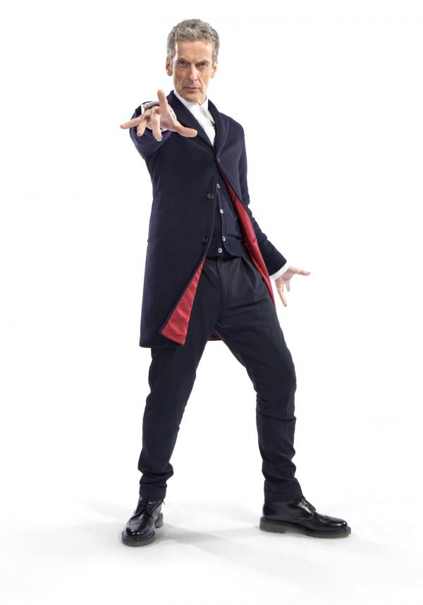 The Twelfth Doctor costume revealed (Credit: BBC/Steve Brown)
